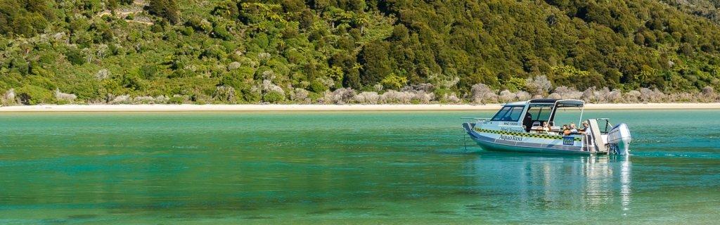 Awaroa Escape - Walk - Hike -Abel Tasman Aqua Taxi